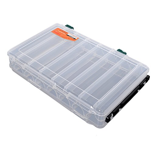 Double-Sided 14-Compartment Utility Box,perfect
