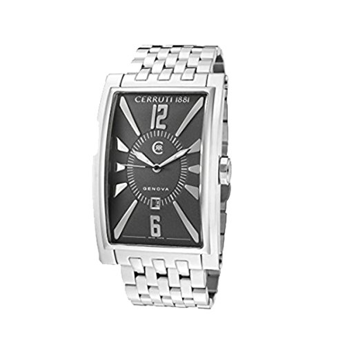 cerruti-1881-mens-crb004a221c-genova-uomo-grey-dial-stainless-steel-watch
