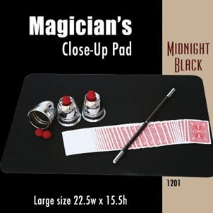 "Magic Makers Large Close-up Pad (22.5"" X 15.5"") Midnight Black - 1"