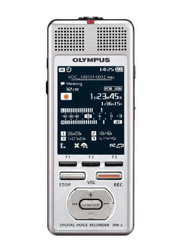 Olympus DM-3 4 GB Digital Voice Recorder