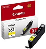 Canon 6446B001 - CLI-551Y XL - High Yield - yellow - original - ink tank - for PIXMA iP8750, iX6850, MG5550, MG5650, MG5655, MG6450, MG6650, MG7150, MG7550, MX725, MX925