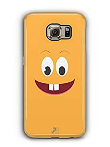 YuBingo Surprised Smiley Mobile Case Back Cover for Samsung Galaxy S6