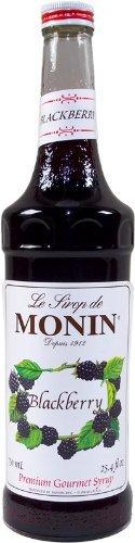 Monin Flavored Syrup, Blackberry, 33.8-Ounce Plastic Bottle (1 liter)