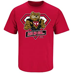 Buy Have No Fear Louisville Fans! Teddy Bear to the Rescue T-Shirt by Smack Apparel