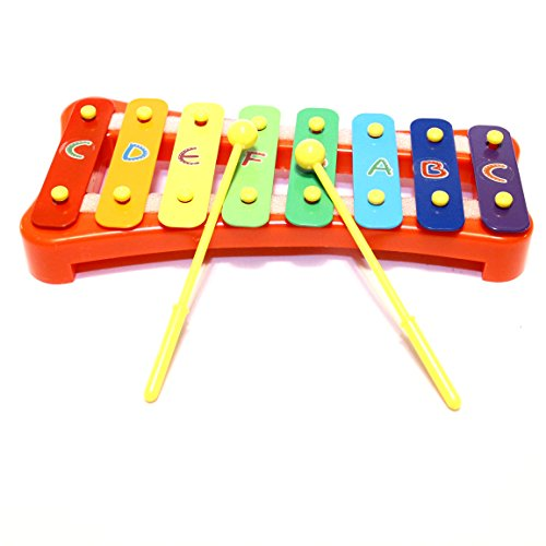 Dazzling Toys Letters Basic Xylophone with 2 Sticks (D178)