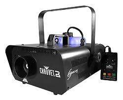 CHAUVET HURRICANE H1301 Pro Smoke Fog Machine Fogger w/ FC-T Wired Remote