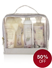 Floral Collection Magnolia Toiletry Gift Bag
