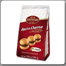 Bistefani Baci Di Dama with Chocolate and Hazelnut 7.05 Oz