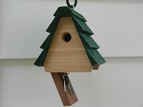 HIDE A KEY BIRDHOUSE