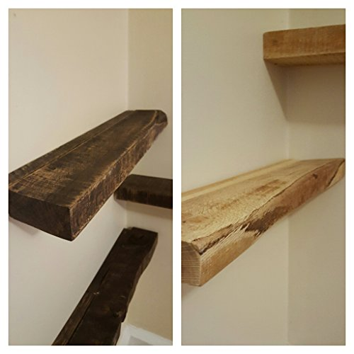 Rustic Re-Purposed/Salvaged Solid Wood/Lumber Shabby Chic Floating Shelf (more colors and sizes available!)