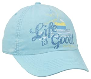 Life is good Ladies Seas The Day High 5 Chill Cap by Life is Good