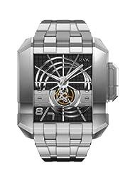RSW Men's 7110.MS.S0.1.00 Crossroads Square Automatic Stainless-Steel Bracelet Watch