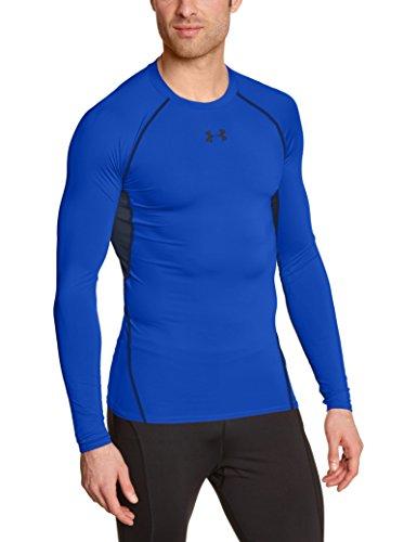 Under Armour-Maglietta a compressione a maniche lunghe da uomo - Blu (Blu - Ultra blu) - L