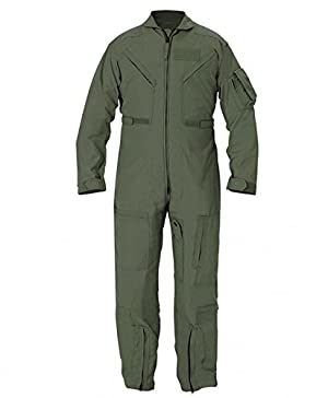 Propper Cwu 27/P Nomex Flight Suit,Black,36 Long (Color: Black, Tamaño: 36 Long)
