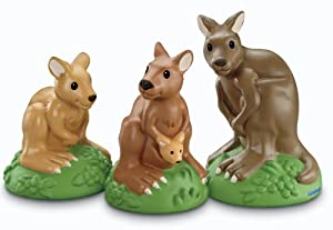 Fisher-Price Little People Zoo Talkers Kangaroo Family Pack
