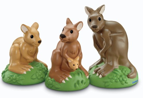 41iQ%2BdQ%2BptL Cheap  Fisher Price Little People Zoo Talkers Kangaroo Family Pack