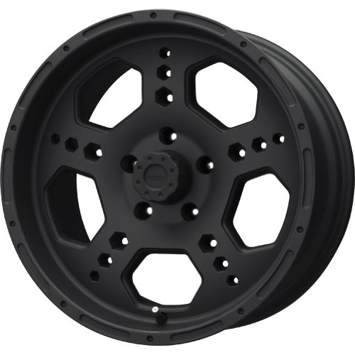 Liquid Metal Gatlin Series Matte Black Wheel (18x9/8x165.1mm)