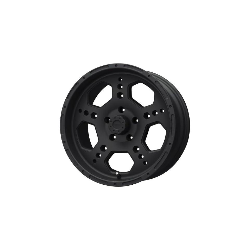 Liquid Metal Gatlin Series Matte Black Wheel (22x9.5/8x165.1mm)