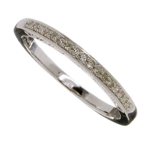 Ladies' 9ct White Gold Diamond Eternity Ring