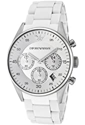 Emporio Armani Women's AR5867 Silver Dial Watch