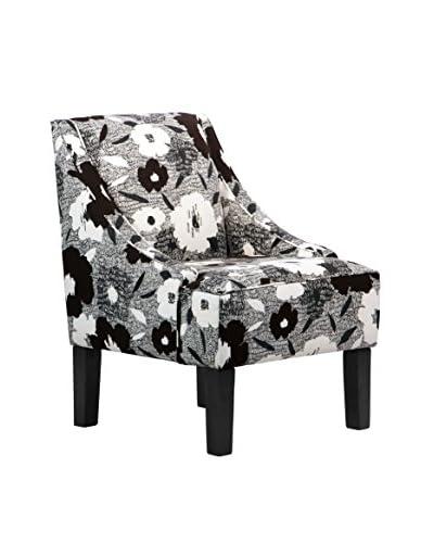 Skyline Furniture Swoop Arm Chair, Carys Ink