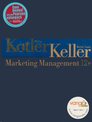 Marketing Management: AND Video on DVD