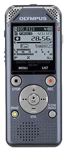 【Amazon.co.jp限定】OLYMPUS ICレコーダー VoiceTrek 4GB リニアPCM対応 FMチューナー付 GRY グレー WS-805