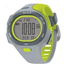 buy Soleus Unisex Sr008-082 P.R Grey And Lime Green Watch