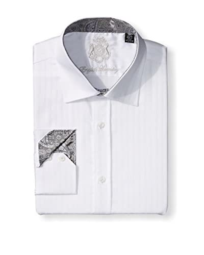 English Laundry Men's Pattern Dress Shirt
