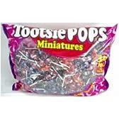 Tootsie Pops トッツィポップス ミニ 棒付きキャンディー(約350個)