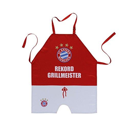 "FC Bayern Grillschürze ""Grillmeister"""