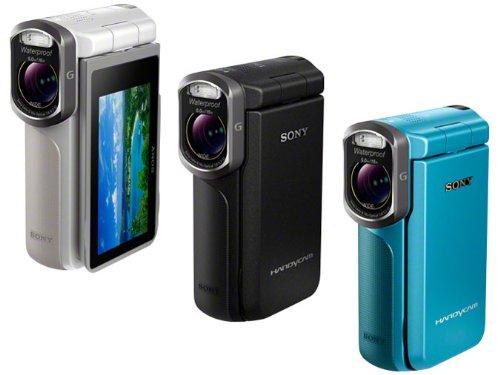 SONY デジタルHDビデオカメラレコーダー ブルー HDR-GW77V/L