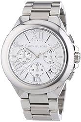 Michael Kors MK5719 Women's Chronograph Camille Stainless Steel Bracelet Silver Watch