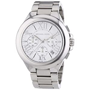 Michael Kors Women's 'Bradshaw' Silver Watch - MK5719