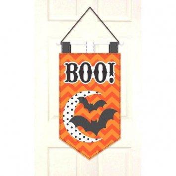 Modern Halloween Felt Door Banner - 1