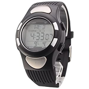 Mudder Strapless Heart Rate Wristwatch with LCD Monitor/Clock/Calorie Counter/Stopwatch/WR 30M