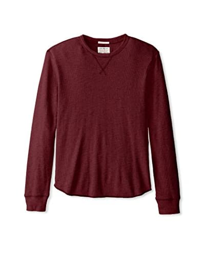 Lucky Brand Men's Slub Crew Neck Thermal