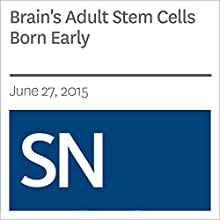 Brain's Adult Stem Cells Born Early (       UNABRIDGED) by Laura Sanders Narrated by Mark Moran