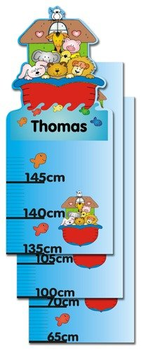 Childrens Personalised Ark Height Chart