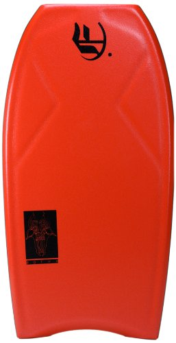 Empire Bodyboards Andre Botha 2X World Champ PP LTD Bodyboard, Red, 41-Inch