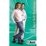 Juzo Soft Compression Pantyhose 30-40mmhg Open Toe, I, Shadow (Color: Shadow, Tamaño: I)