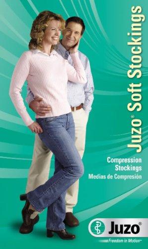 Juzo Soft Compression Pantyhose 30-40mmhg Open Toe, II, Shadow (Color: Shadow, Tamaño: II)