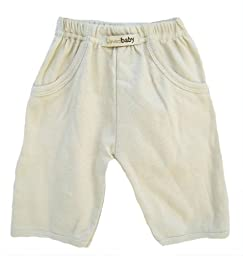L'ovedbaby Signature Pants, Sand 3-6 Months