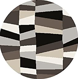 Surya COS-9188 Cosmopolitan Transitional Geometric Round Mint 8\' Round Area Rug