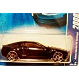 Black ASTON MARTIN V8 VANTAGE Hot Wheels 2008 All Stars Series 1:64 Scale Die Cast Collectible Car #
