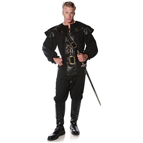 [GSG Renaissance Costumes for Men Medieval Swordsman Rogue Pirate Dress] (Cabaret Costumes For Men)