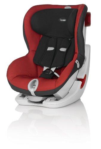 Britax-Roemer KING II LS Seggiolino Auto Gruppo 1, 9-18 kg, Rosso (Chili Pepper), 9 mesi - 4 anni