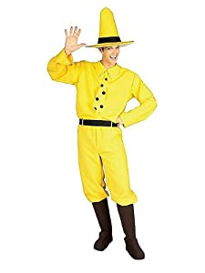 Rubie's Costume Curious George Man In The Hat, Yellow, One Size