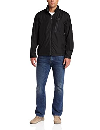 (一折)Hawke & Co. Men's Travel Jacket 男式夹克 黑 $16.68