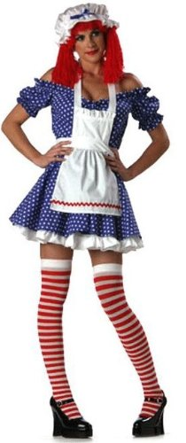 Adult Premier Racy Rag Doll Costume Dress